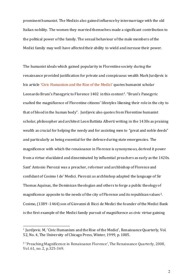 !!MHIS 322 Major Essay Final Copy