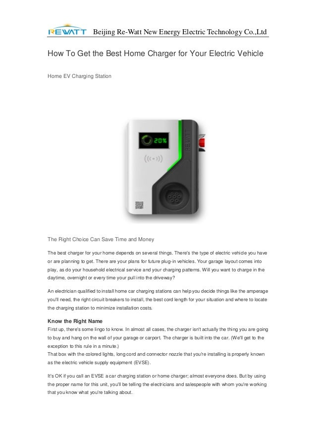 How To Get the Best Home Charger for Your Electric Vehicle Best Designed Home Charging Station on homwmade charching station, best power station, best charging dock, universal usb charger station, best radio station, mophie docking station, best iphone station, best fuel station,