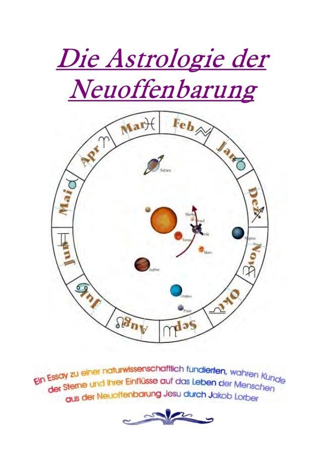 Die Astrologie der Neuoffenbarung