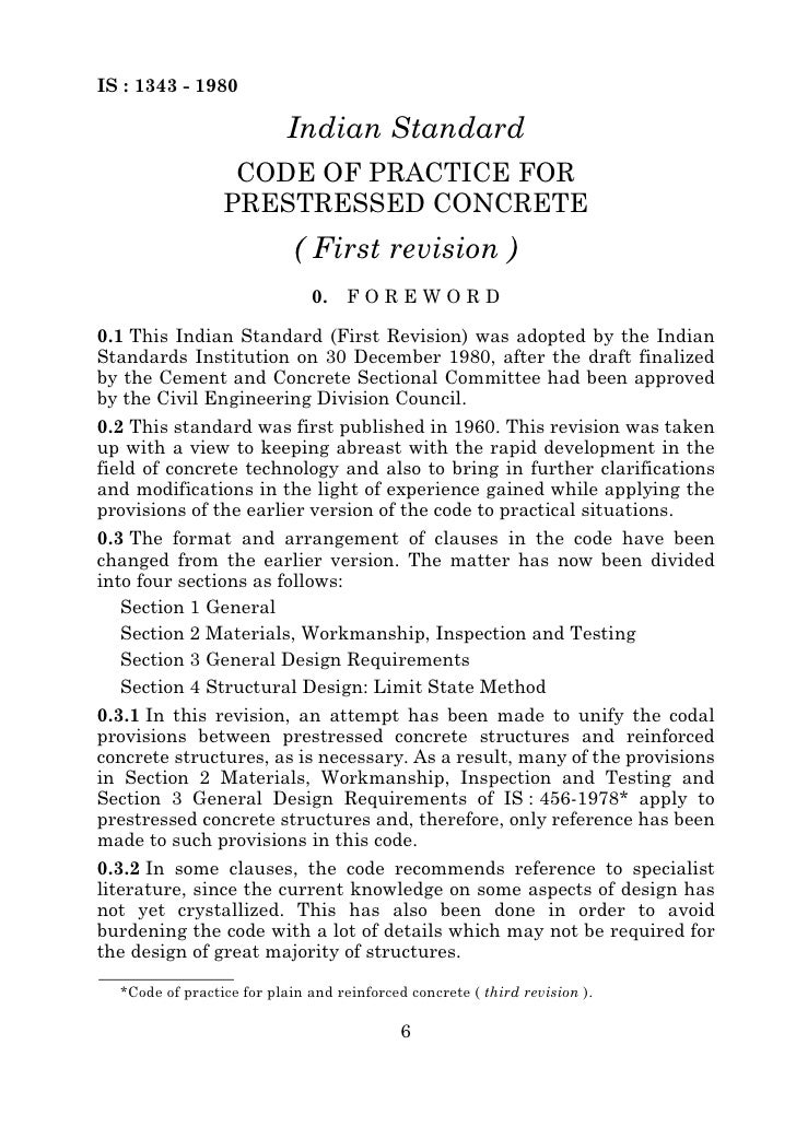 Reinforced Concrete Terminology