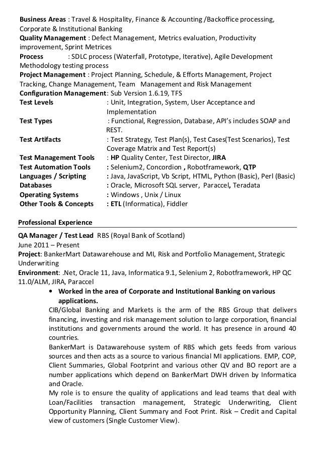 manmadha rao q a test manager lead resume cyberkorp inc