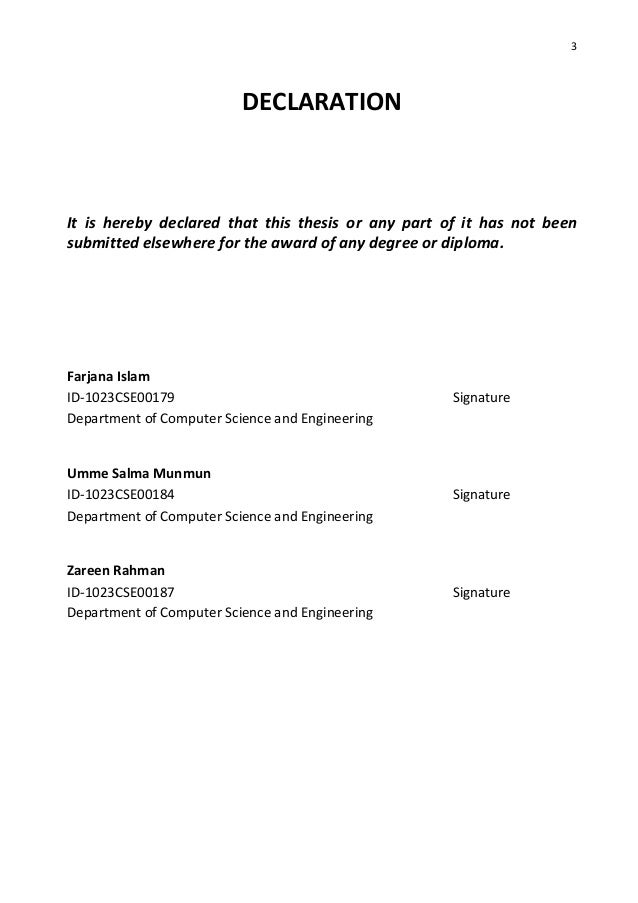 3g thesis