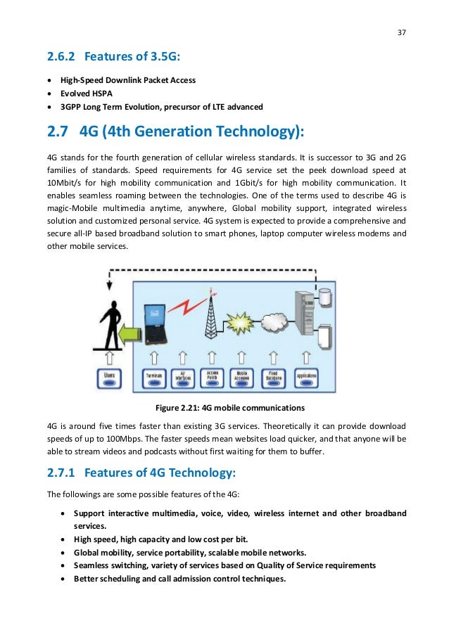 Thesis_A Study on 3G Mobile Technology