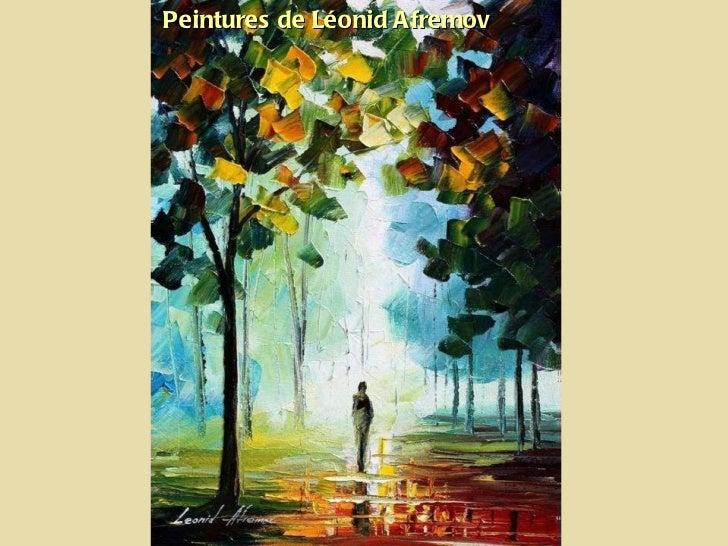 Peintures de Léonid Afremov