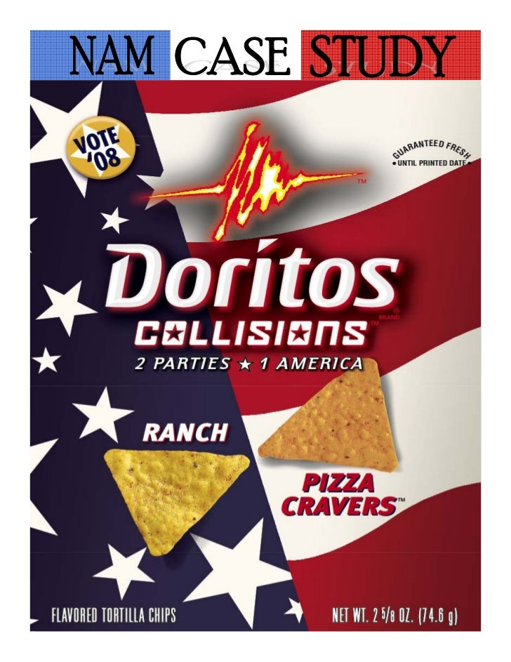 doritos marketing No matter how many bags of nacho cheese or cool ranch doritos  on  marketing the toasted corn chips, and doritos stormed american.