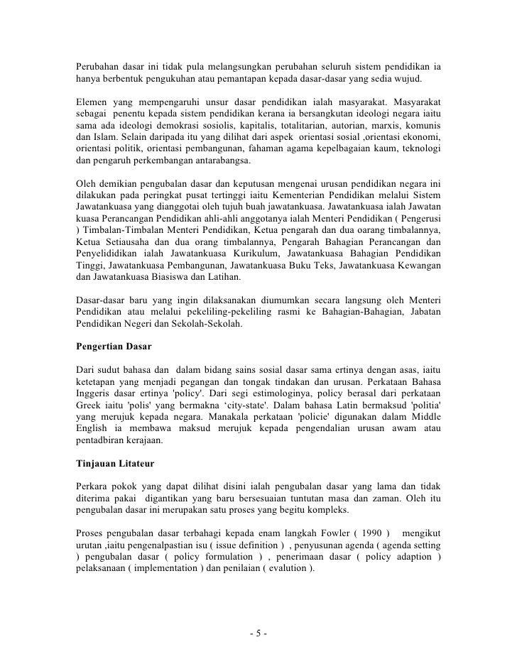 Sejarah Perkembangan Pendidikan Di Malaysia