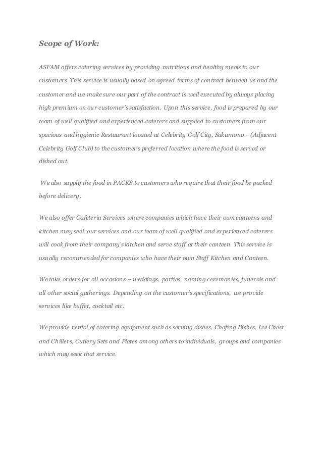 restaurant business plan in nigeria pdf