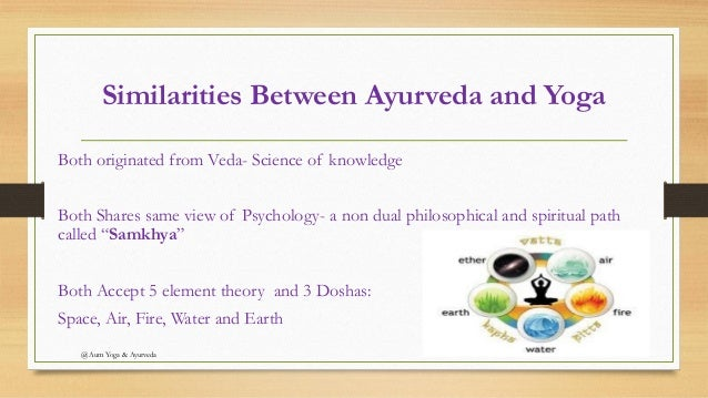 ayurveda and yoga The best gift you can give yourself is a gift of health yoga and ayurveda are beautiful sister sciences, that together form a perfect tool for balanced, healthy and wholesome lifestyle.