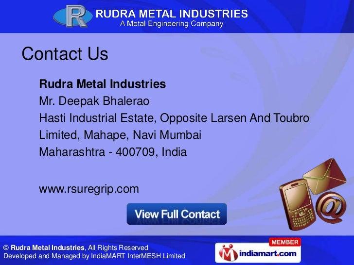 rudra metal industries navi mumbai maharashtra