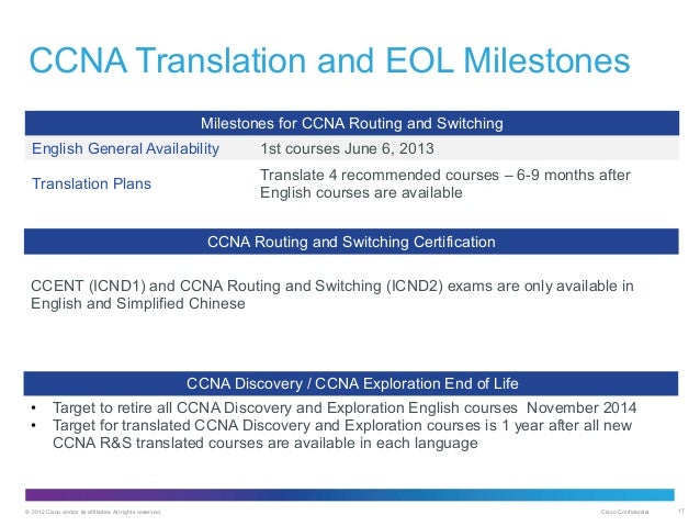 16558708 cisco ccna exploration june 09 Students who enroll in ccna exploration will be expected to know  after july  31, 2009, networking academy students will need to take the.