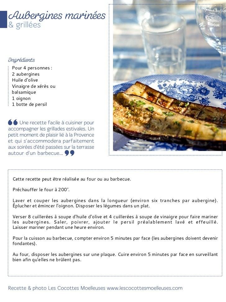 Pour 4 personnes :1 grosse aubergine ronde ou 2petitesHuile d'olive2 boules de mozzarella2 tranches de jambon cru1 poignée...