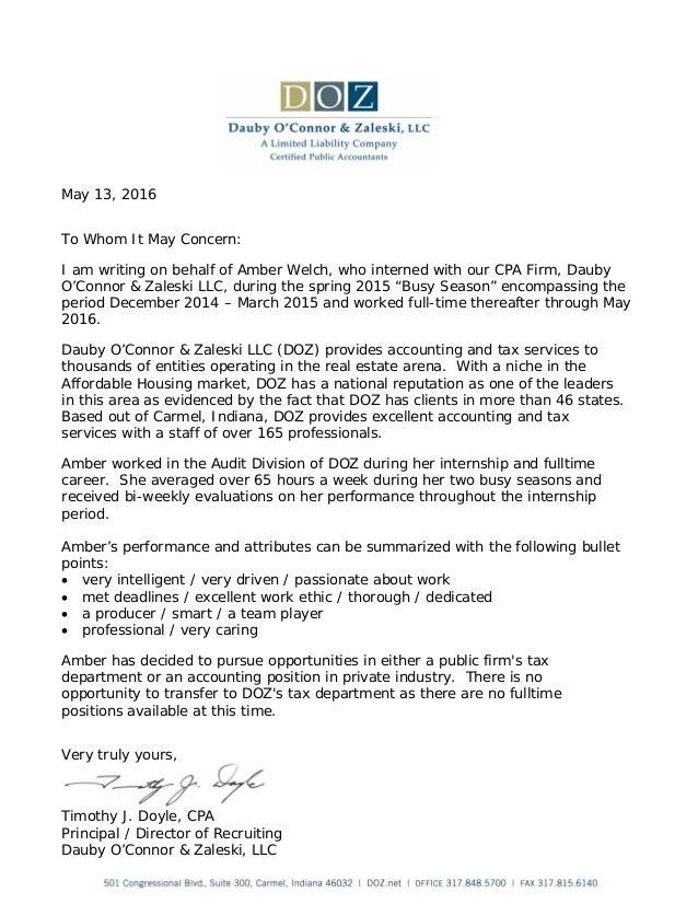 tim doyle recommendation letter