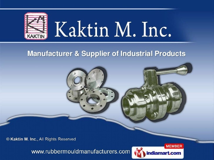Manufacturer & Supplier of Industrial Products