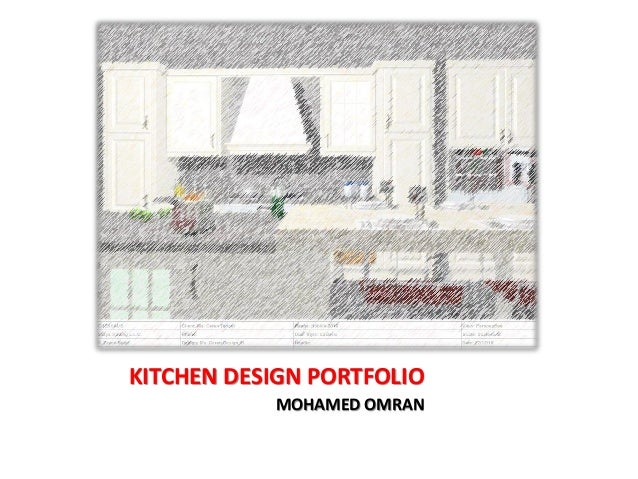 KITCHEN DESIGN PORTFOLIO MOHAMED OMRAN
