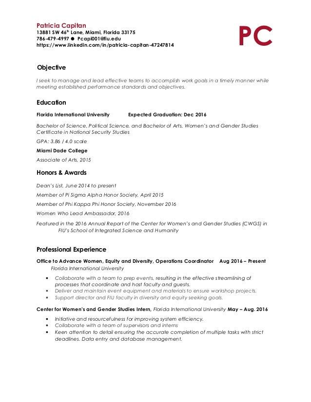 Resume Prof Revised
