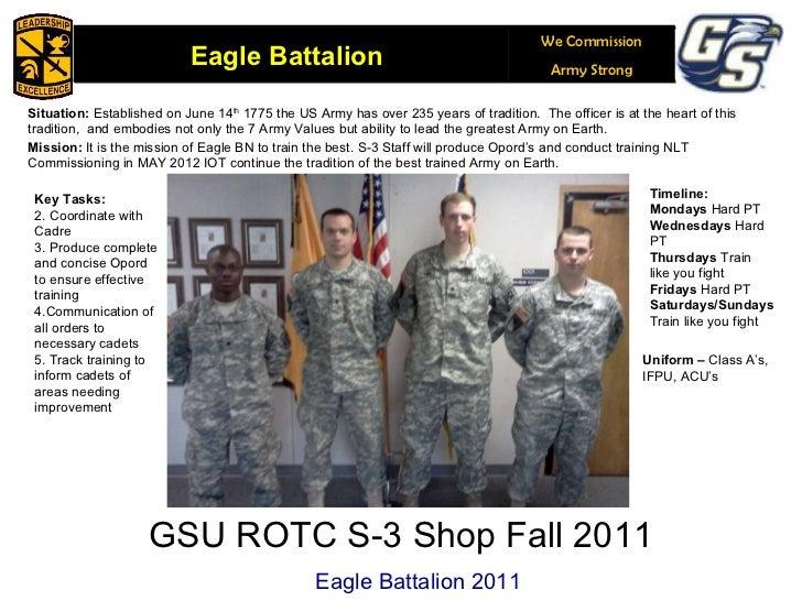 26APR2011 Staff Call Slides