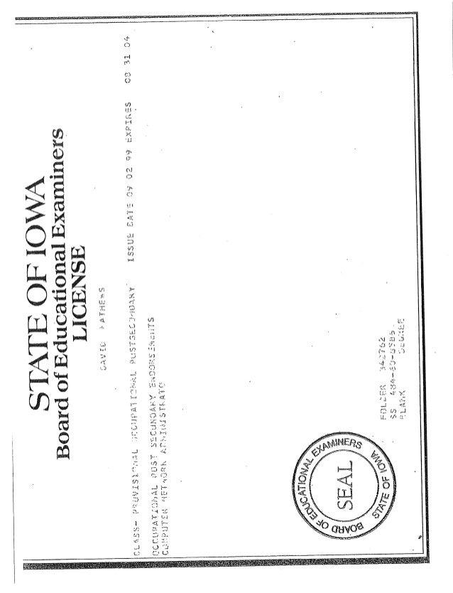CERTIFICATES-AWARDS2 - DAVID MATHEWS