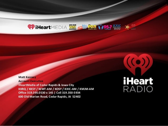 Quick Look Media Kit iHeart Adv with iHeart Cover Page