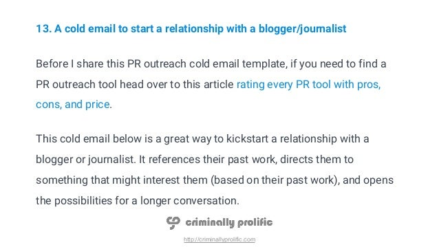 26 Cold Email Templates Which Guarantee A Response