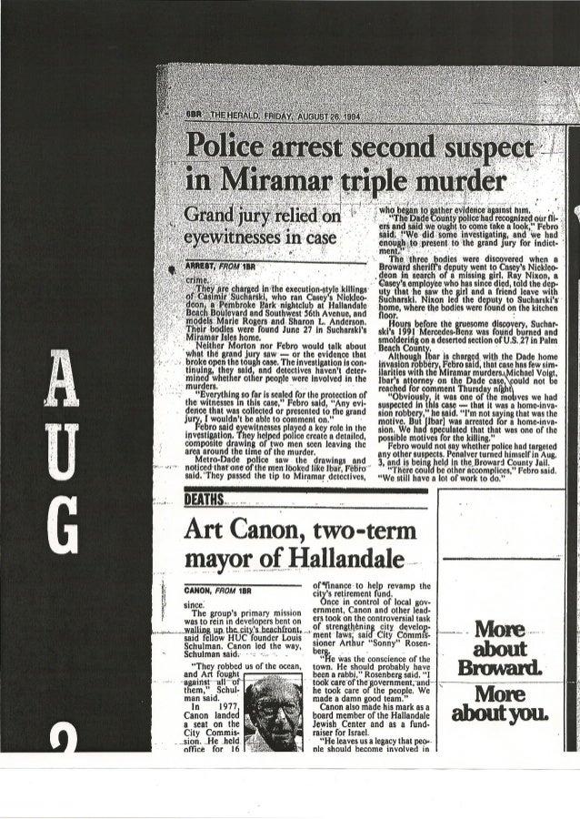 Pablo Ibar es considerado sospechoso de haber cometido el triple asesinato