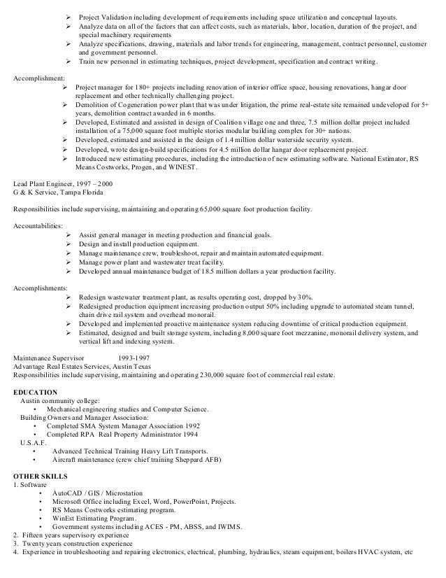 Magnificent Tampa Engineering Resume Image - Administrative Officer ...