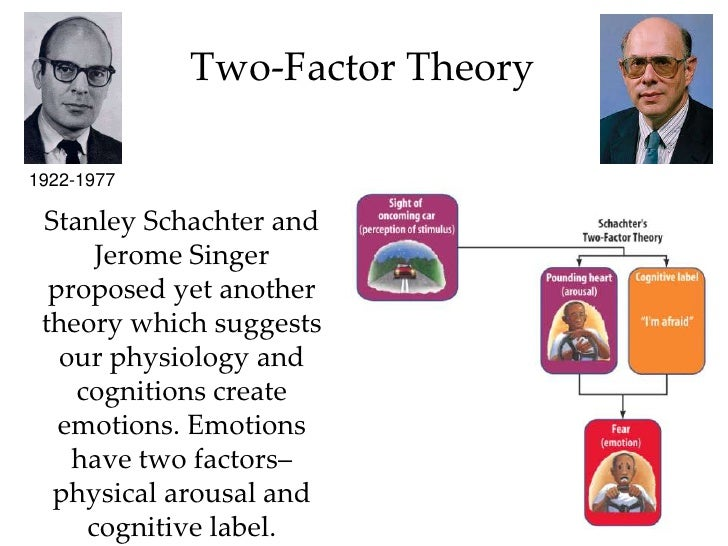 theories of emotion in psychology pdf