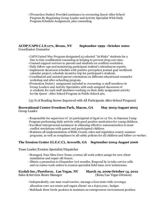 Enchanting Resume Group Leader Composition - Professional Resume ...