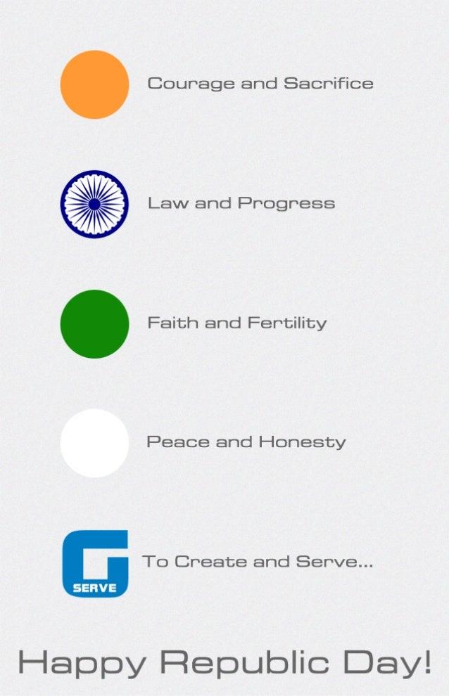 Color Significance - Tricolour indian flag