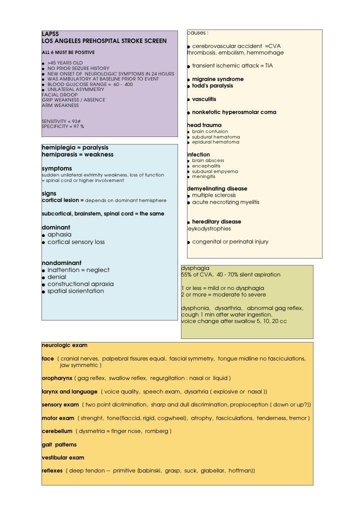 26 Lpss Hemiparesis Memiplegia Dysphagia Evaluation