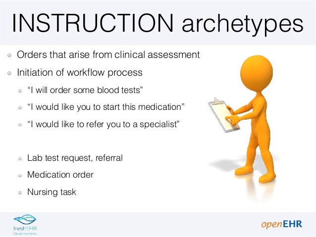 2 6 open_ehr archetypes instructions_actions Slide 3