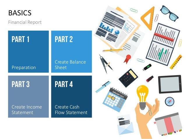 how to create a financial report ppt templates
