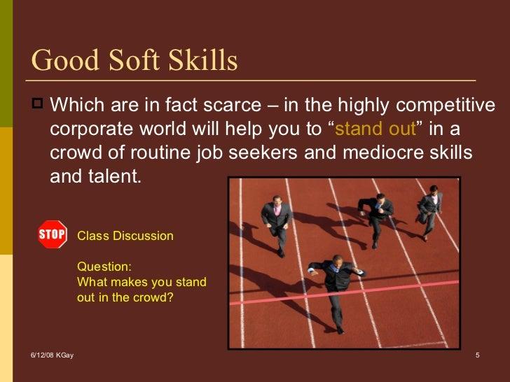 good job related skills