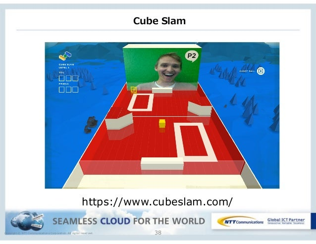 Copyright © NTT Communications Corporation. All rights reserved. 38 https://www.cubeslam.com/ Cube Slam