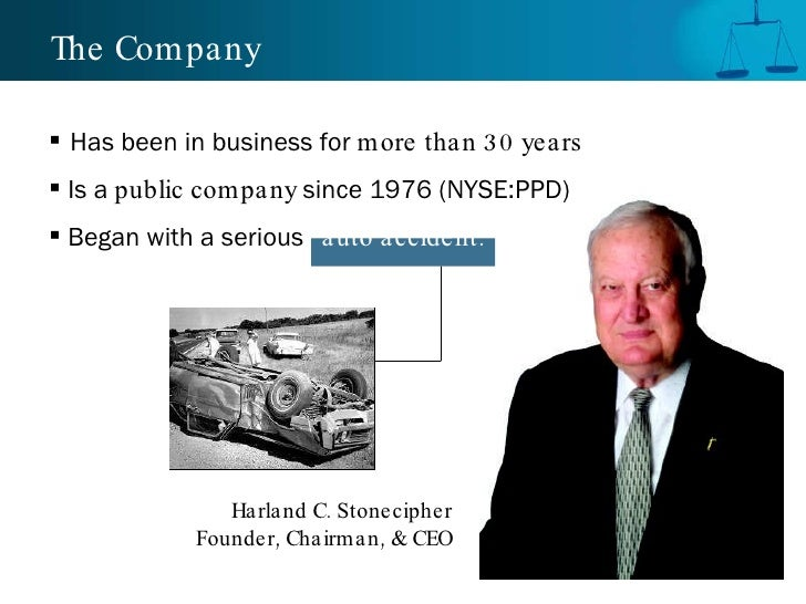 The Company <ul><li>Has been in business for  more than 30 years </li></ul><ul><li>Is a  public company  since 1976 (NYSE:...