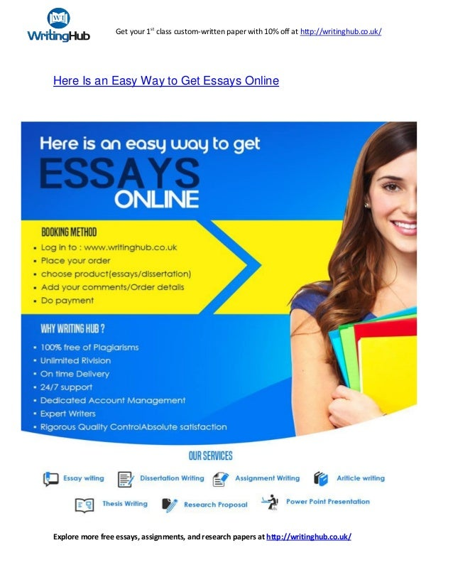 here is an easy way to get essays online jpg cb  get your 1st class custom written paper 10% off at