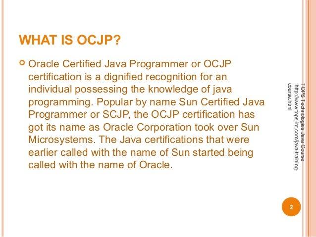 Tips to prepare for OCJP (Oracle Certified Java Programmer) Certifica…