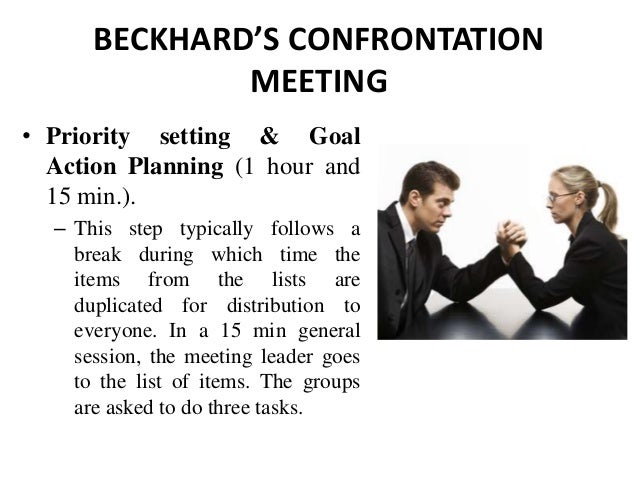 organization confrontation meeting company Try to have confrontational meetings in person whenever possible  solution  that works well and that serves your needs, as well as the needs of the company.