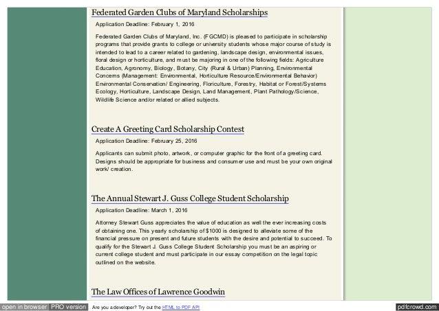 Outside scholarships scholarshipsnationaldebtrelief 14 pdfcrowdopen m4hsunfo
