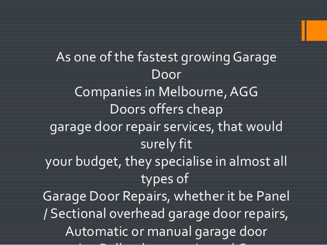 Looking For A Cheap Repair Service And Cheap Garage Door Spare Parts