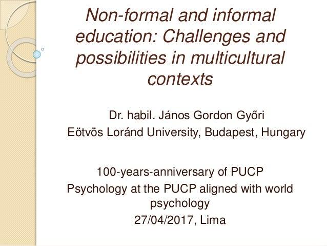 similarities between formal informal and nonformal education