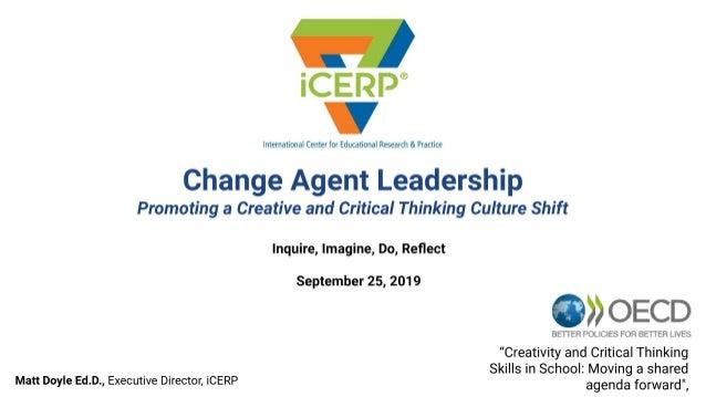 Change Agent Leadership – Matt Doyle
