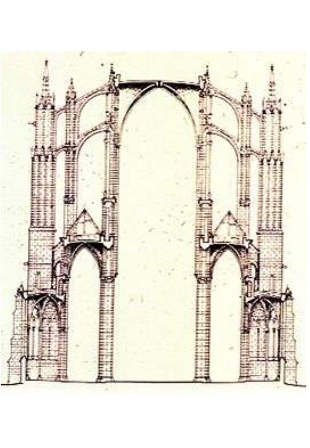 Pianta Architettura In Francese : Architettura gotica in francia inghilterra e italia