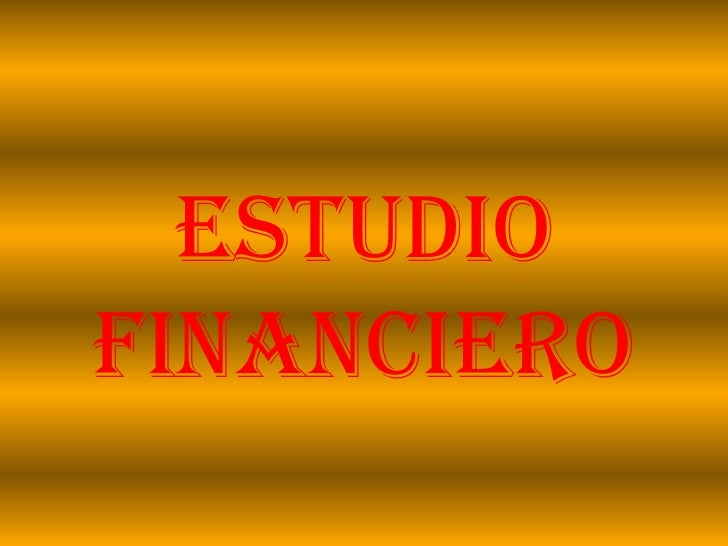 Estudiofinanciero<br />
