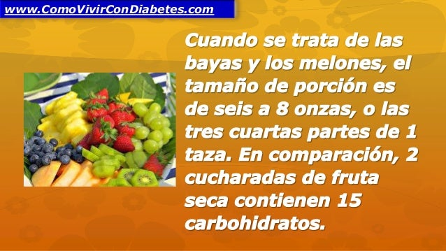 Frutas Para Diabéticos Tipo 2