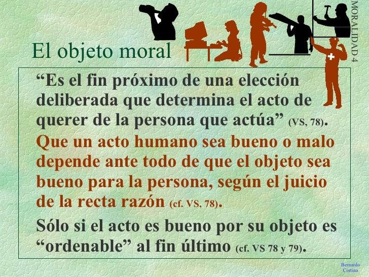 Que significa la moralidad de los actos