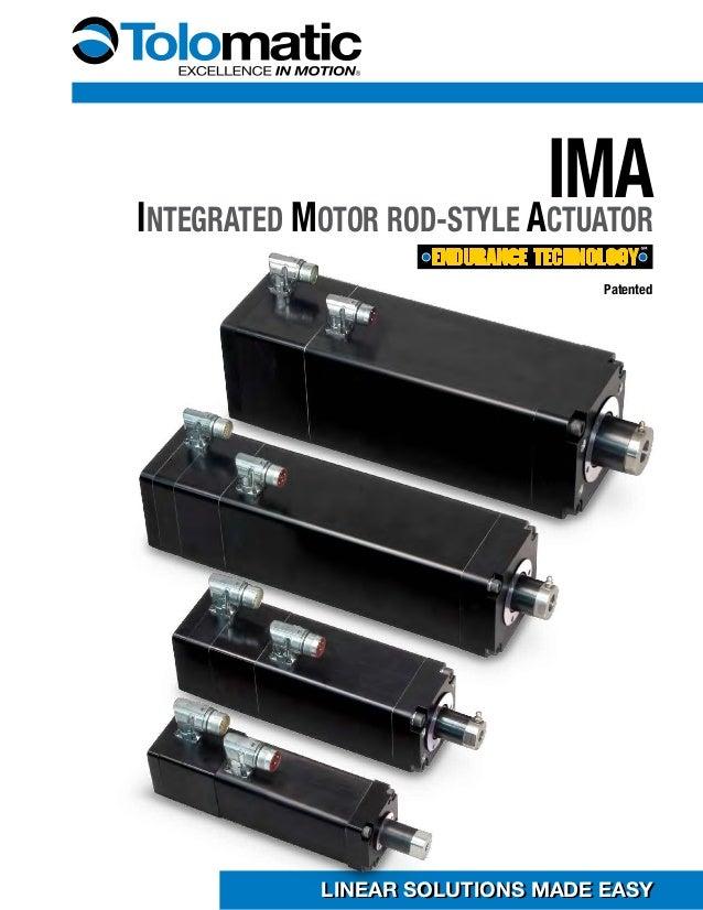 Ima linear servo actuator actuators Servo motor linear actuator