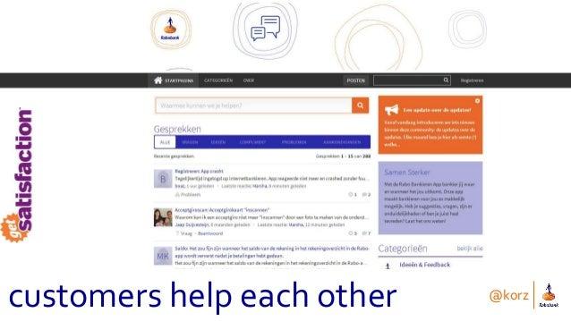 @korz customers help each other
