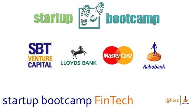 @korz startup bootcamp FinTech