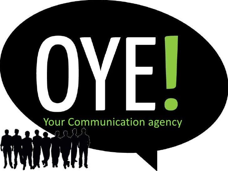 Your Communication agency<br />