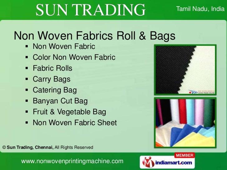 Sun Trading (@nonwovenprint) | Twitter